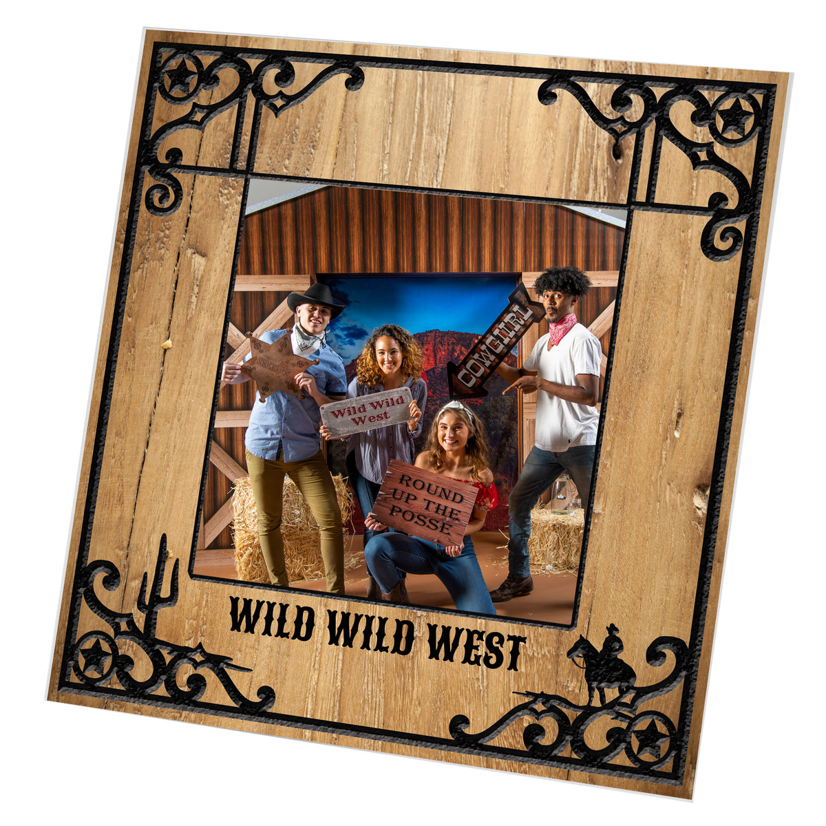 Wild West Fest Personalized Vogue Square Frame