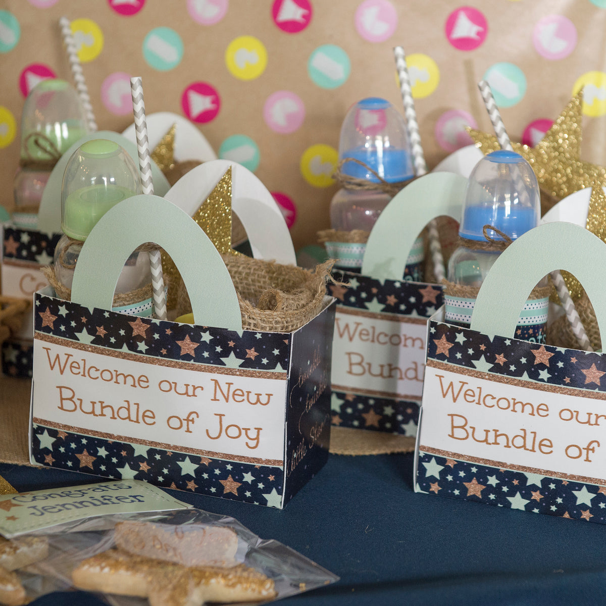 Totally Rad Personalized Favor Box