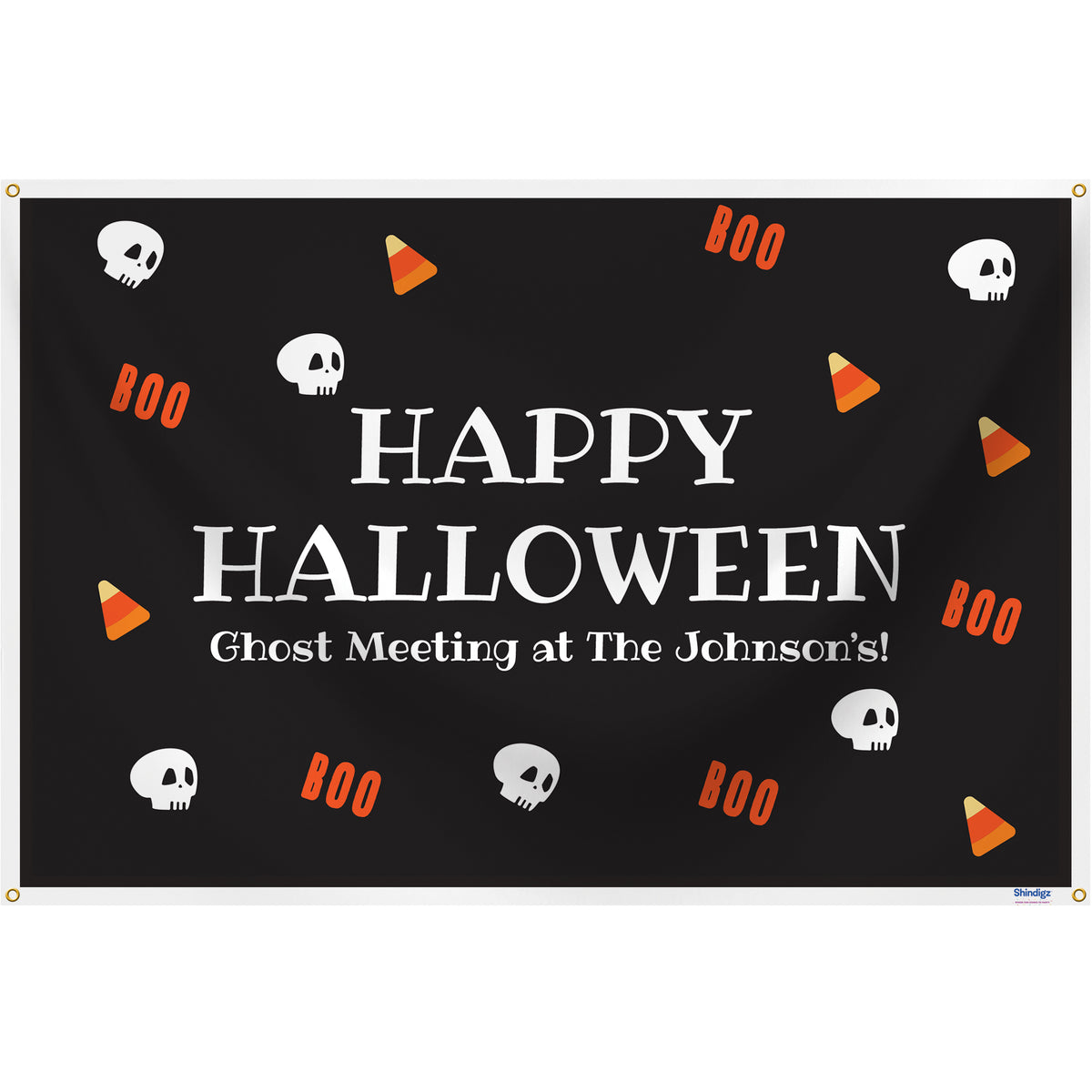 Sweet & Spooky Personalized Rectangle Banner