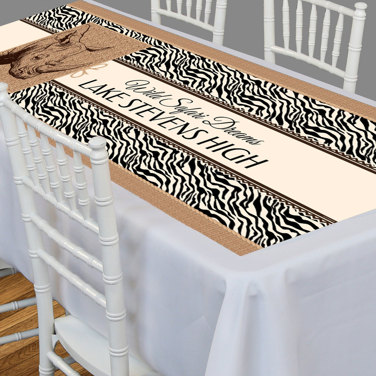 Wild Safari Dreams Rectangle Table Top-It
