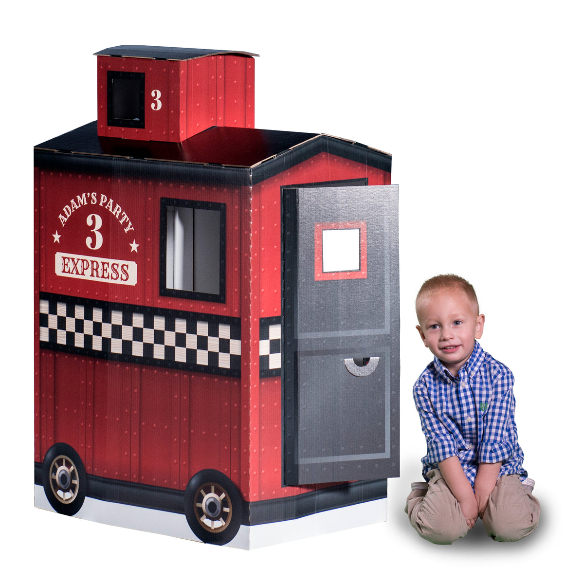 4 ft. 1 in. 3D Personalized Caboose