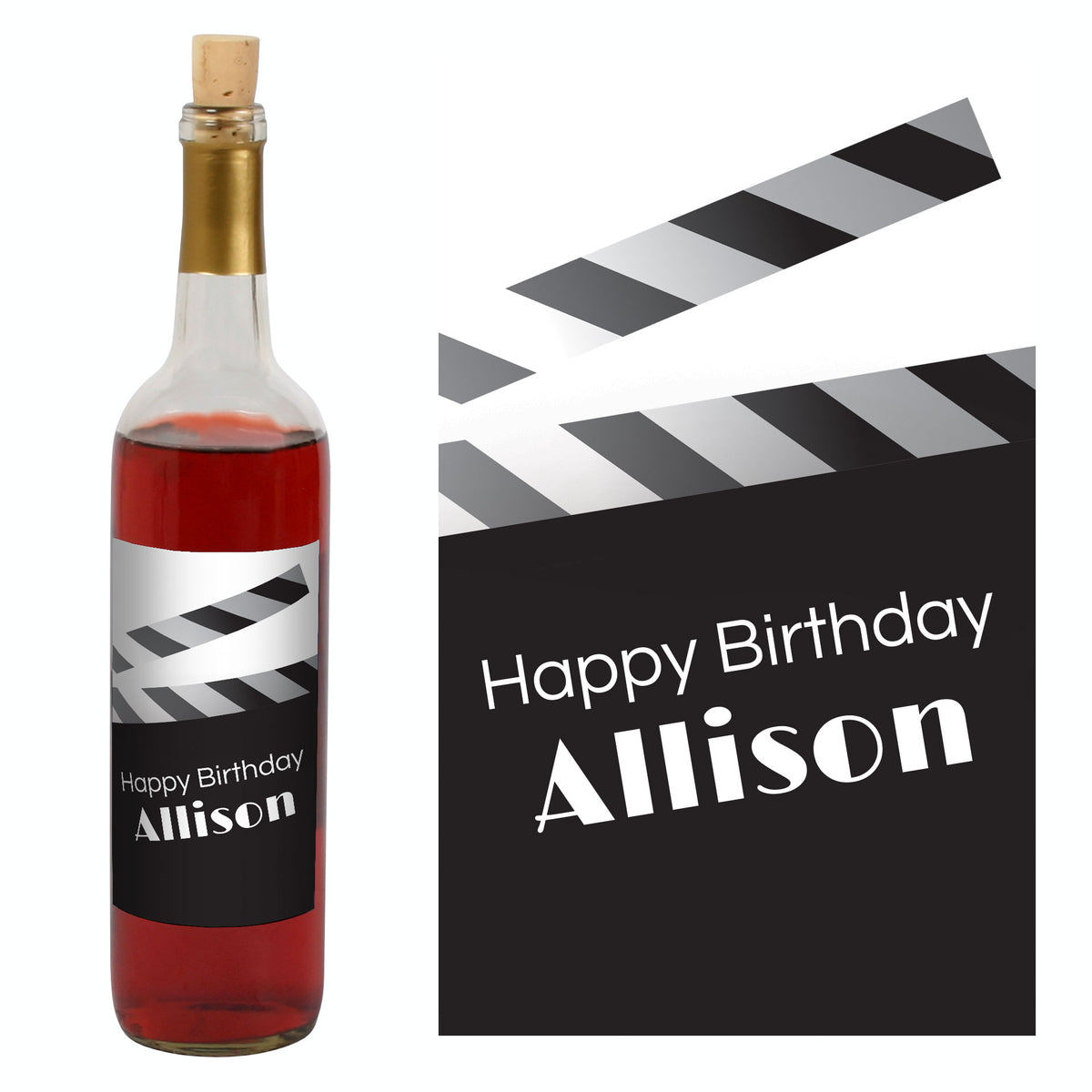 That's a Wrap Personalized Wine Bottle Label