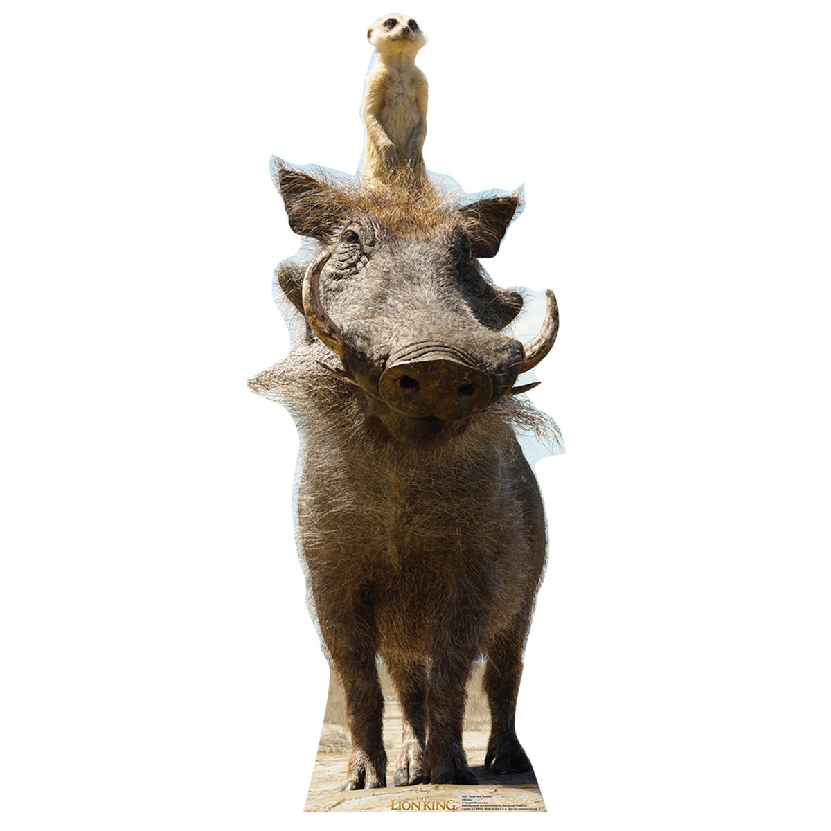 The Lion King Timon and Pumbaa Standee
