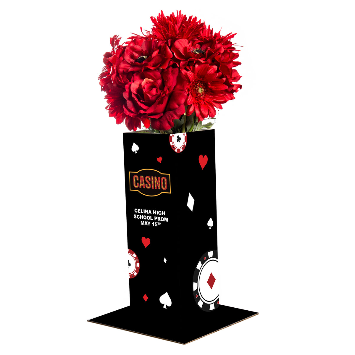 Winner Takes All Personalized Centerpiece