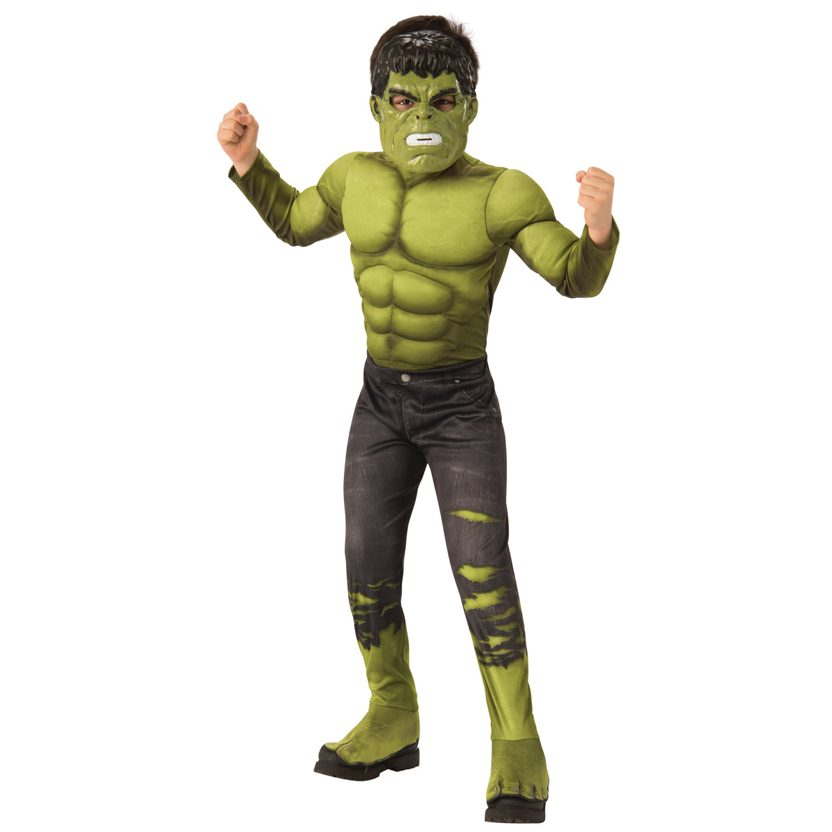 Avengers Infinity War Deluxe Hulk Child Costume