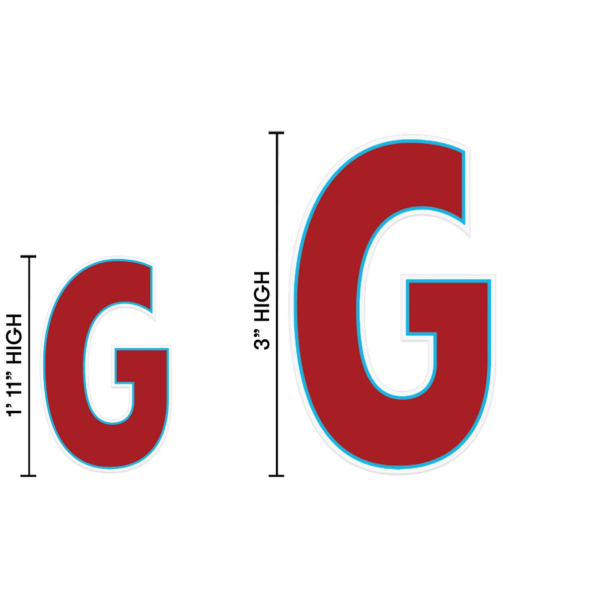 Yard Sign Expression Letter G