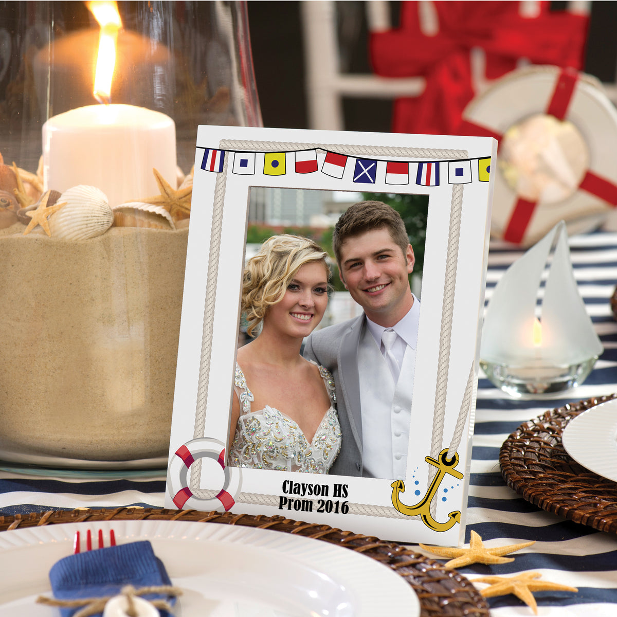Anchors Away Personalized Mod Frame