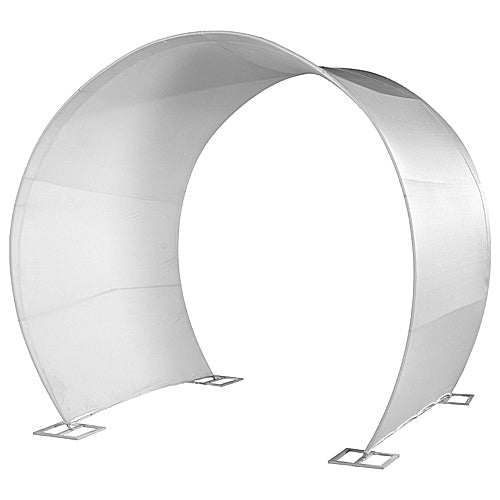 White Tunnel Arch Cover
