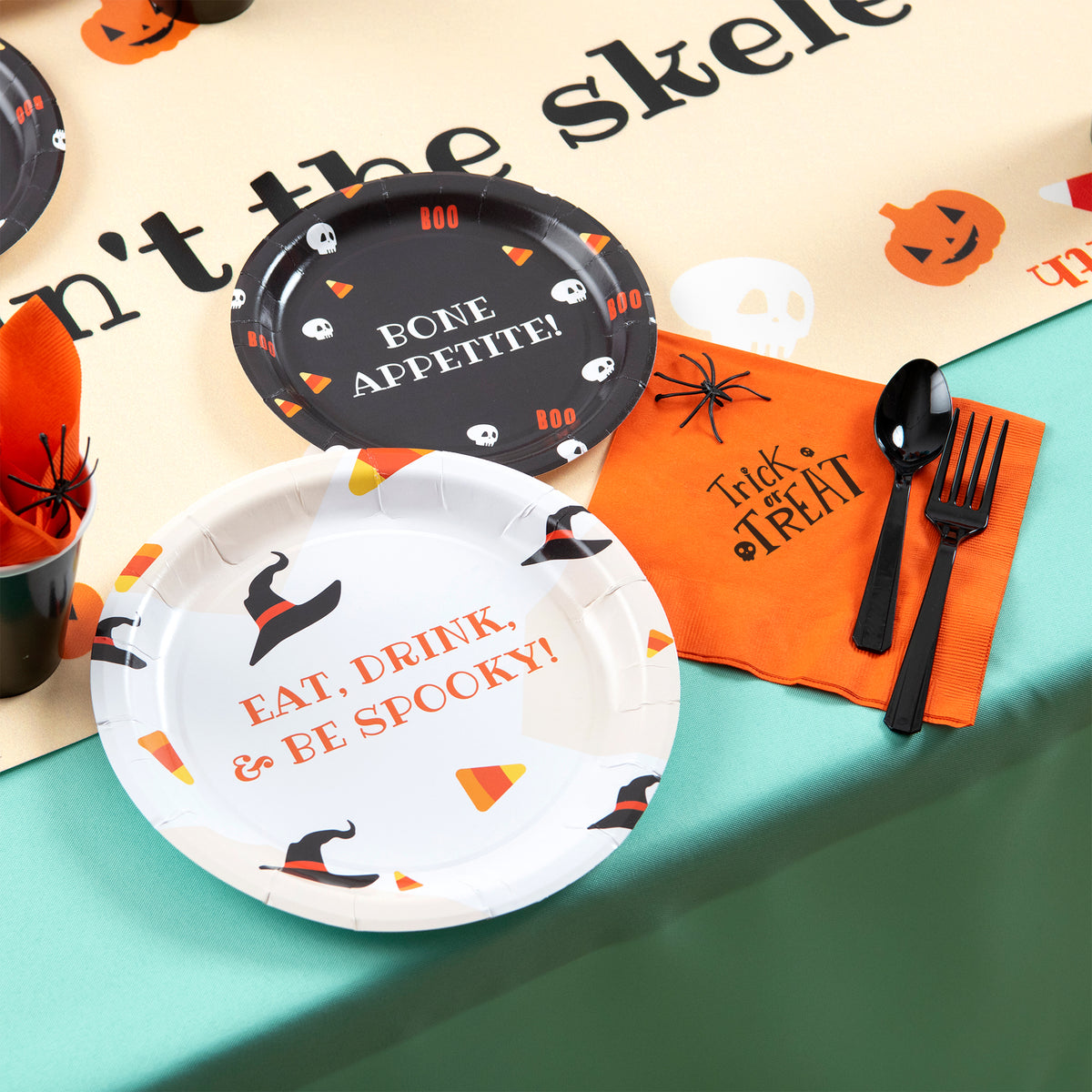 Sweet & Spooky Personalized Dinner Plates