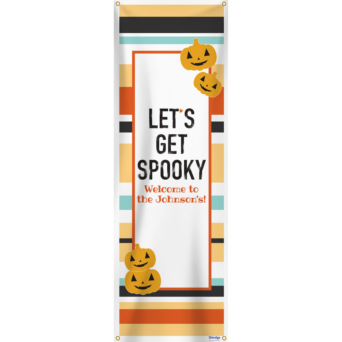Sweet & Spooky Personalized Vertical Banner