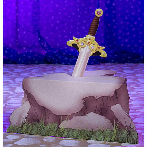4 ft. 7 in. Sword in the Stone Prop