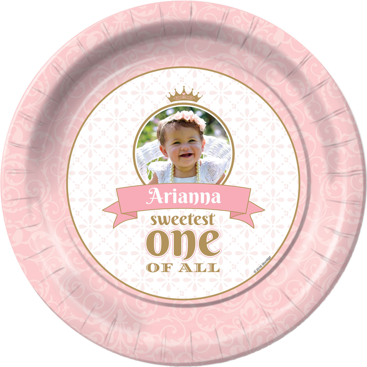 Sweetest 1 of All Personalized Dinner Plates