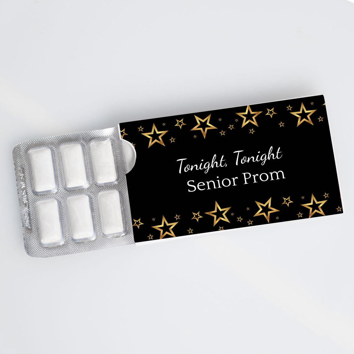 Tonight, Tonight Personalized Gum Sliders
