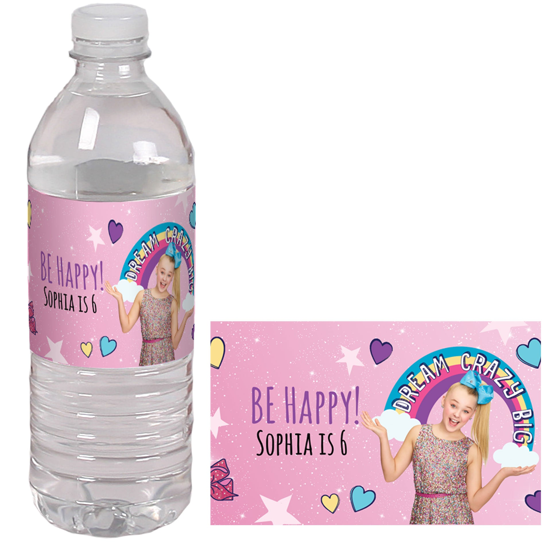 Printable Barbie Water Labels DIY water bottle labels, Personalized AFRICAN AMERICANBlack Barbie Printable Water Bottle Labels Barbie