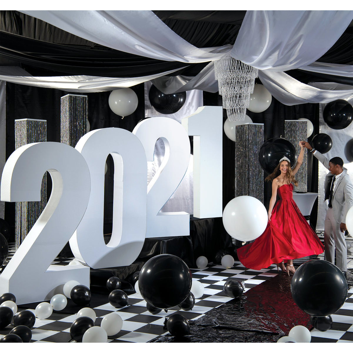 2021 Black & White Ball Theme Kit