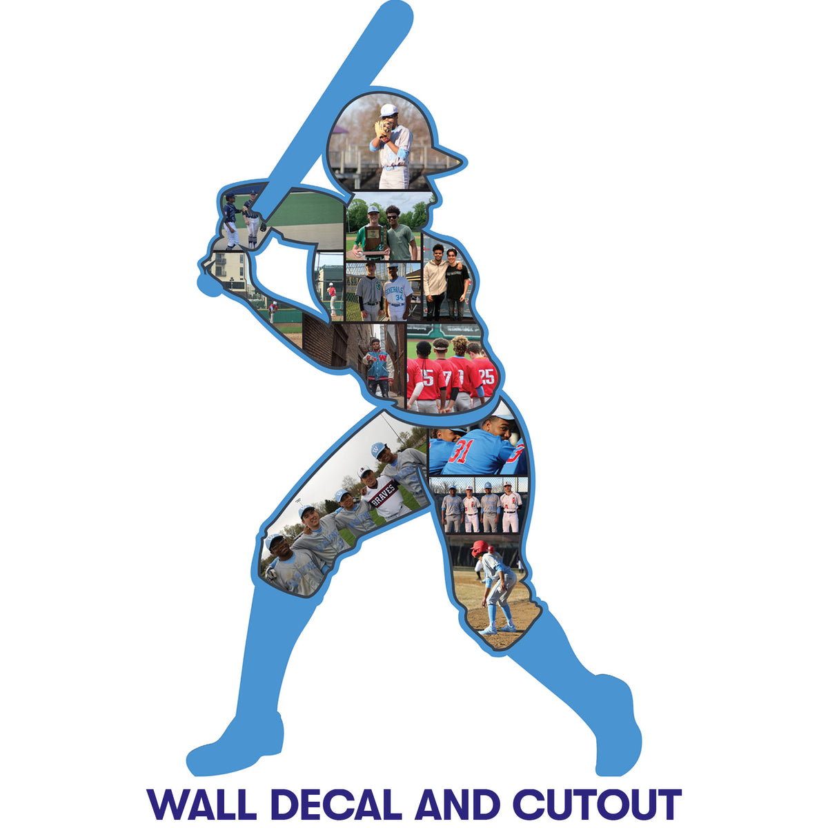 5 ft. 10 in. Baseball Player Photo Cutout