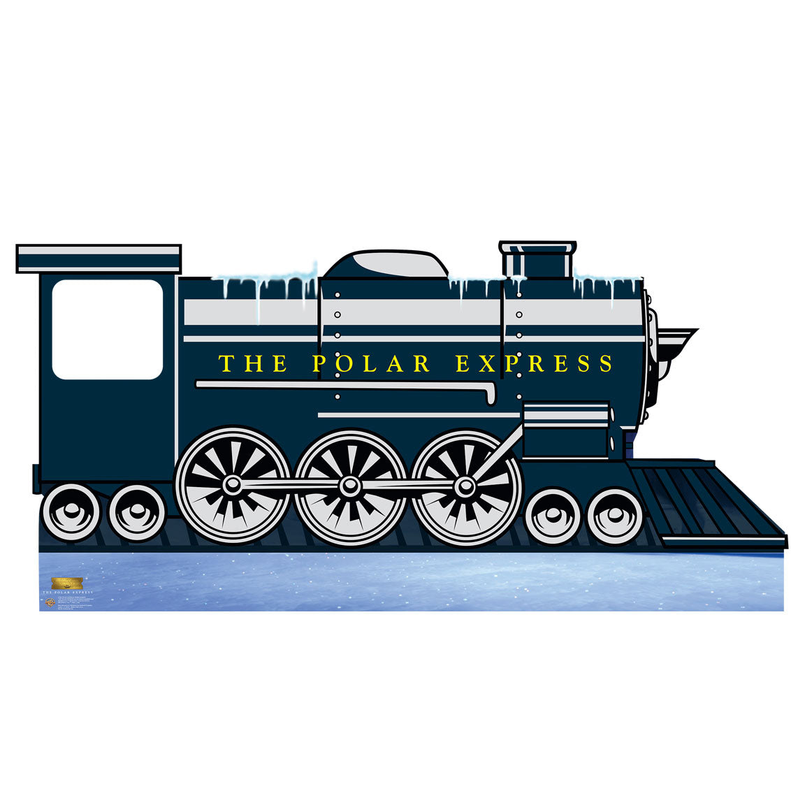 The Polar Express Train Stand-In