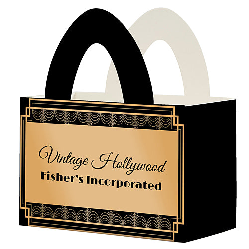 Vintage Hollywood Personalized Favor Box