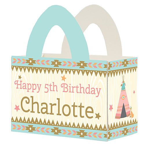 Sweetest Dreams Personalized Favor Box