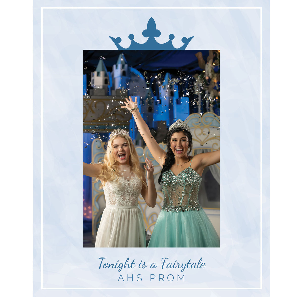 Tonight is a Fairytale Personalized Glass Frame