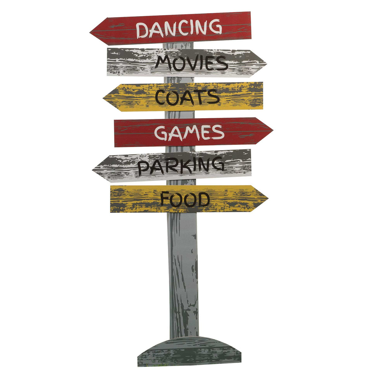 5 ft. 7 in. Wild One Personalized Directional Sign