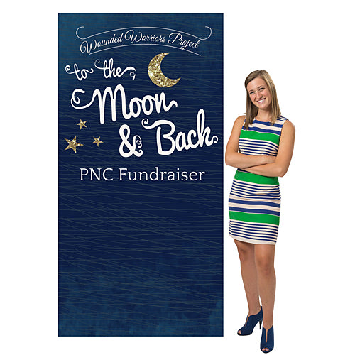 To the Moon & Back Personalized Photo Background