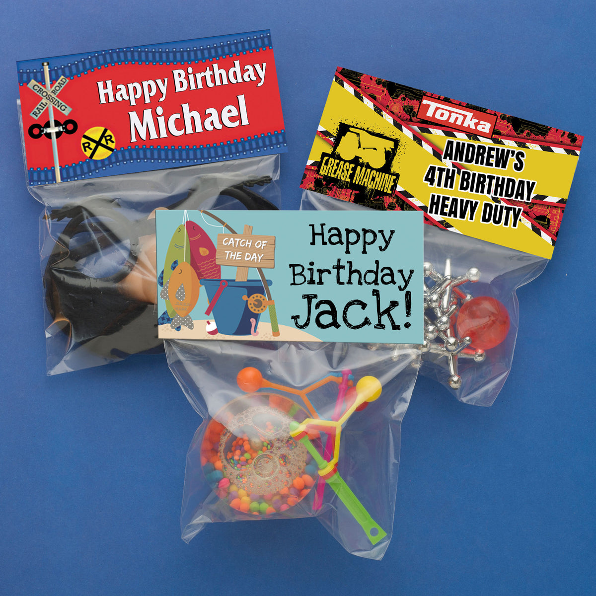 Sweet & Spooky Personalized Favor Bags
