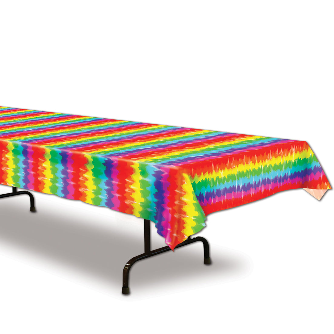 Tie-Dyed Table Cover