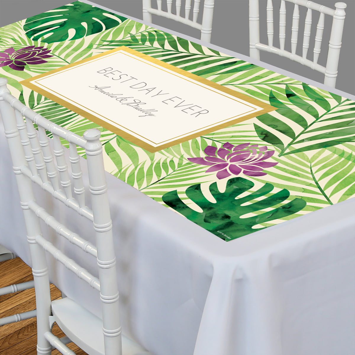 Tropical Elegance Rectangle Table Top-It