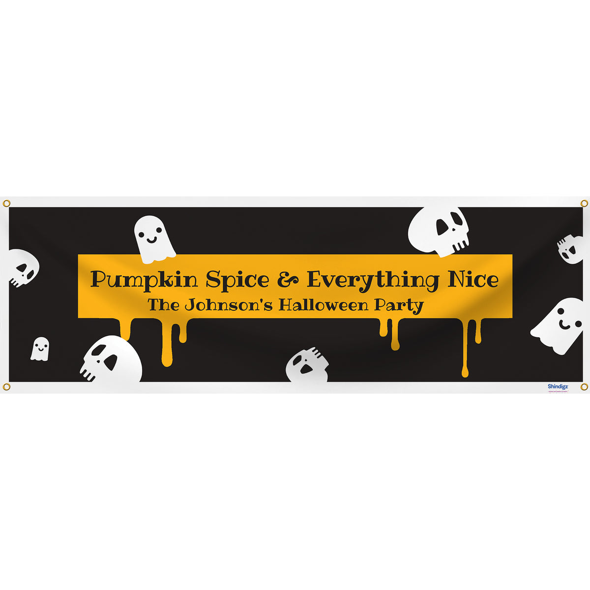 Sweet & Spooky Personalized Banner