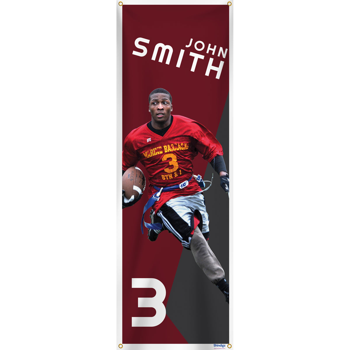 All I Do Is Win Premium Vertical Photo Banner