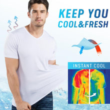 Load image into Gallery viewer, Ice Silk Quick Dry Cooling T-shirt