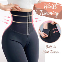 Load image into Gallery viewer, Waist Trimming Compression Thermal Leggings for Curvy