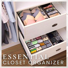 Load image into Gallery viewer, Essential Closet Organizer (Set of 4)