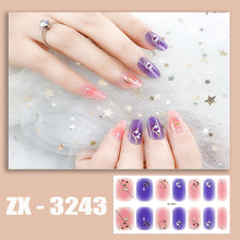 Load image into Gallery viewer, 3D Waterproof DIY Manicure Nail Sticker (14pcs)