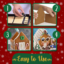 Load image into Gallery viewer, 3D Gingerbread House Cookie Set MadameFlora