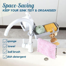 Load image into Gallery viewer, Double Layered Rotatable Sink Organizer