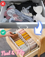 Load image into Gallery viewer, Underwear Storage Box Compartment