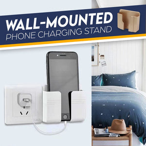 Wall-mounted Phone Charging Stand