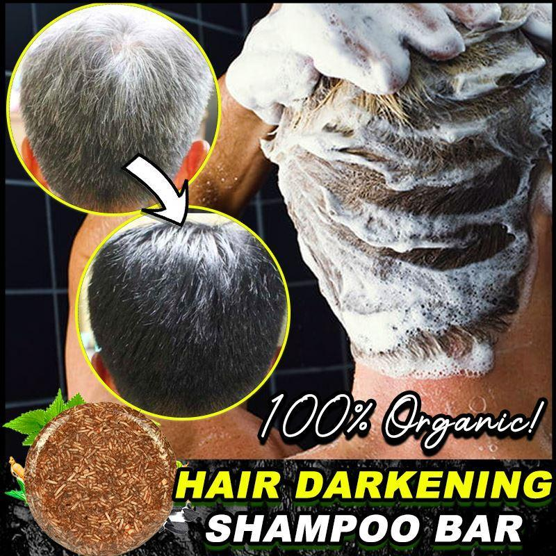 Organic Hair Darkening Shampoo Bar (✨50% OFF) Hair DazzlingBreeze