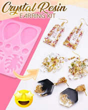 Load image into Gallery viewer, DIY Crystal Resin Earring Kit