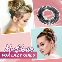 Load image into Gallery viewer, HairLit™ Invisible Headband Stylister Makeup DazzyCandy