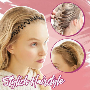 HairLit™ Invisible Headband Stylister Makeup DazzyCandy