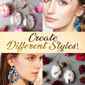DIY Crystal Resin Earring Kit