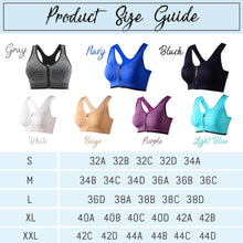 Load image into Gallery viewer, FitX™ Front Closure Sports Bra