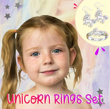 Load image into Gallery viewer, Unicorn Rings Set