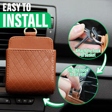 Load image into Gallery viewer, Car Leather Storage Basket