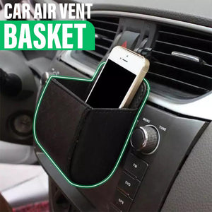 Car Leather Storage Basket