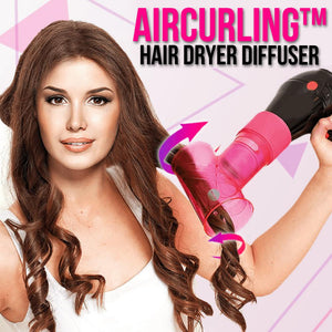 AirCurling™ Hair Dryer Diffuser Hair DazzlingBreeze