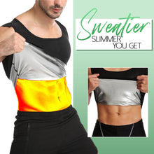 Load image into Gallery viewer, AlphaMen Sweat Shaper Sauna Vest MadameFlora